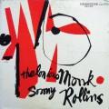 "Thelonious Monk / Sonny Rollins LP (""446 W. 50th ST., N.Y.C."" RVG DG MONO)"