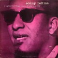 "Sonny Rollins - A Night At The ""Village Vanguard"" (""47 WEST 63rd ・ NYC"" ""NEW YORK USA"" RVG MONO)"