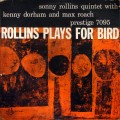 Sonny Rollins Quintet With Kenny Dorham And Max Roach - Rollins Plays For Bird (446 W. 50th ST., N.Y.C. LBL RVG DG MONO)