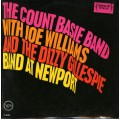 The Count Basie - The Count Basie Band With Joe Williams And The Dizzy Gillespie Band At Newport