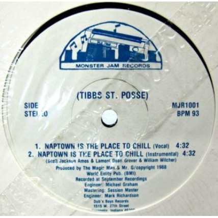 Tibbs St. Posse - Naptown Is The Place To Chill