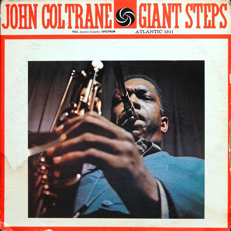JOHN COLTRANE Giant Steps LP ATLANTIC 1311 US 1962 JAZZ ...