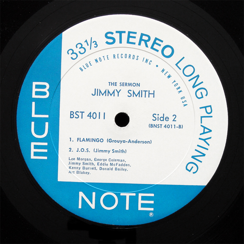 Jimmy Smith The Sermon Lp Blue Note Bst 4011 Us 1959 W