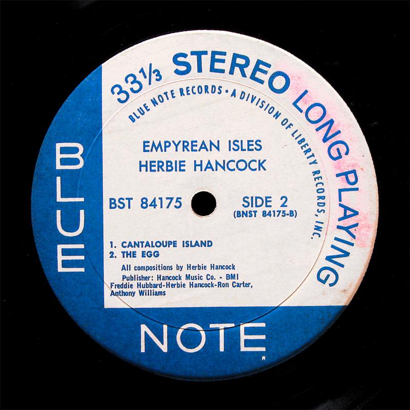 Herbie Hancock Empyrean Isles Lp Blue Note Bst 84175 Us