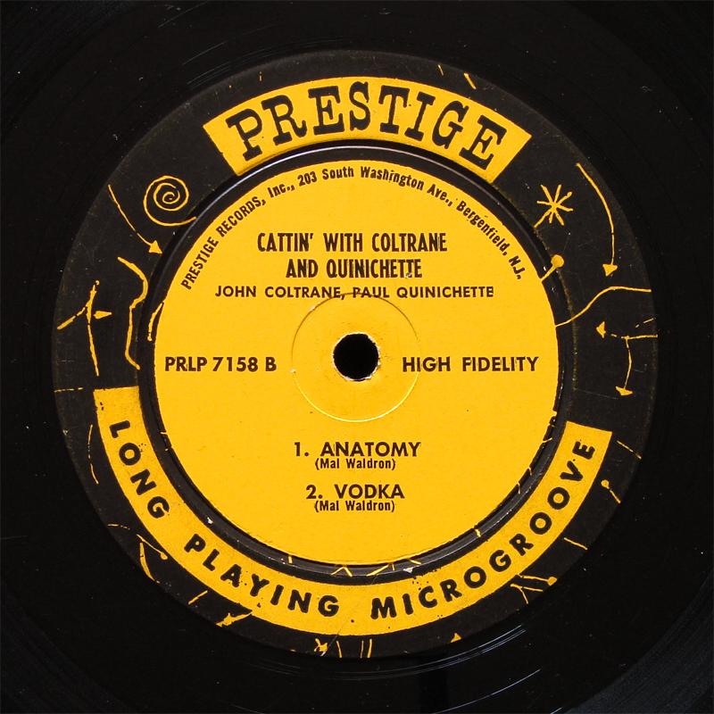 John Coltrane Paul Quinichette Cattin With Lp Prestige